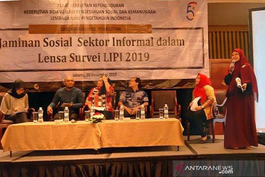 LIPI: 35 persen pekerja sektor informal tidak punya jaminan kesehatan