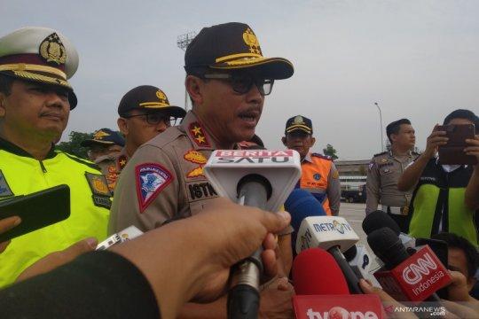 Kakorlantas: Arus kendaraan pemudik Tol Trans Jawa naik 40 persen