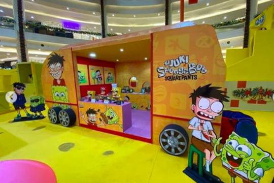 Si Juki luncurkan kolaborasi dengan karakter Spongebob Squarepants