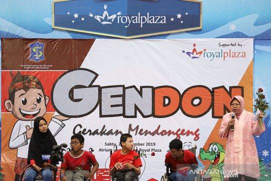 Gerakan mendongeng dideklarasikan di Surabaya