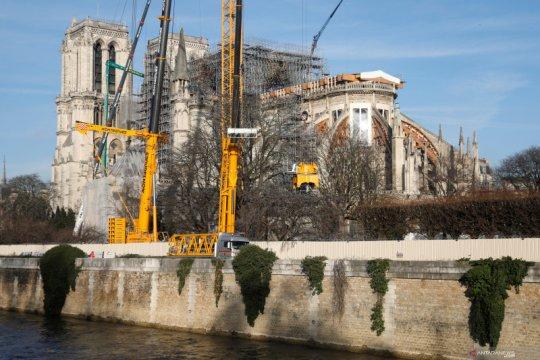 Notre-Dame tidak gelar Misa Natal untuk pertama kalinya dalam dua abad