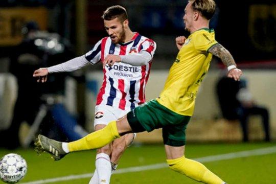 Heerenveen dan Willem II hanya raih satu poin