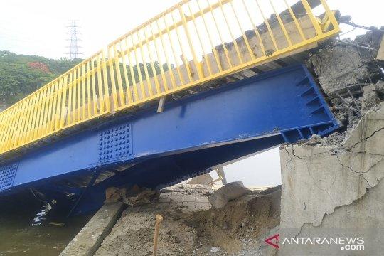 Pengelola sebut  Jembatan Lengkung Kemayoran masih proses penyelesaian
