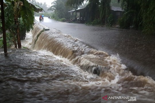 Sejumlah daerah di Pasaman Barat dilanda banjir