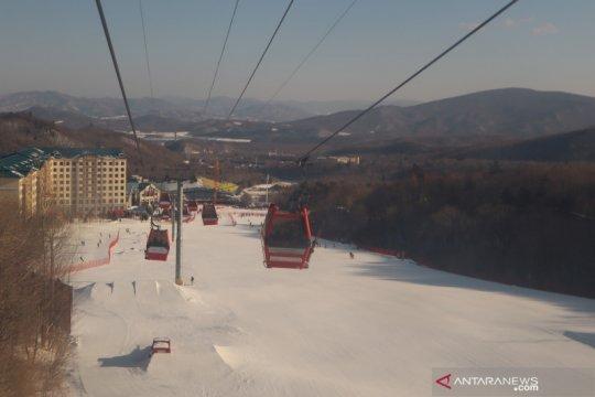 Sensasi menjelajahi bukit salju Yabuli