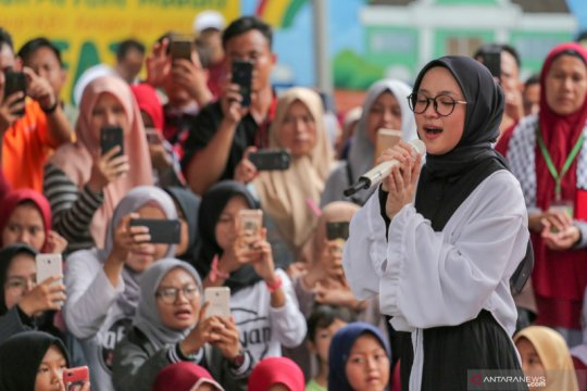 Nissa Sabyan bakal ramaikan Festival Gerhana Matahari Cincin di Siak