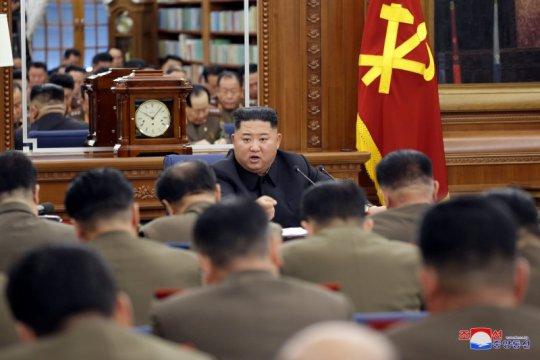 Jelang akhir tahun, Kim Jong Un adakan rapat pleno partai buruh Korea