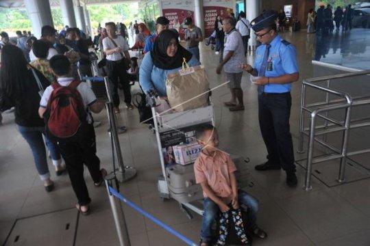 Antisipasi lonjakan penumpang, Bandara Palembang tingkatkan keamanan