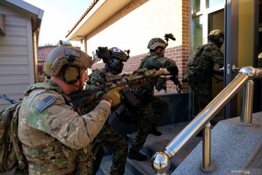 Latihan militer gabungan pasukan Korea Selatan dan Amerika Serikat