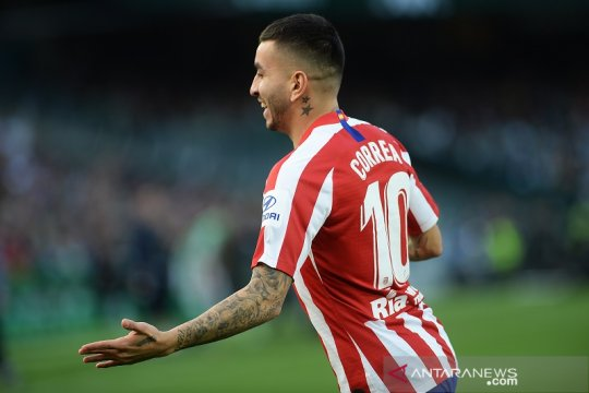 "Angel Correa jadi ""supersub"", Atletico bekap Betis 2-1"