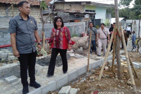 Anggota DPRD Kota Bogor tinjau tembok Mall Boxies
