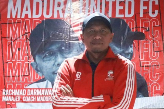 Rahmad Darmawan resmi jadi pelatih Madura United