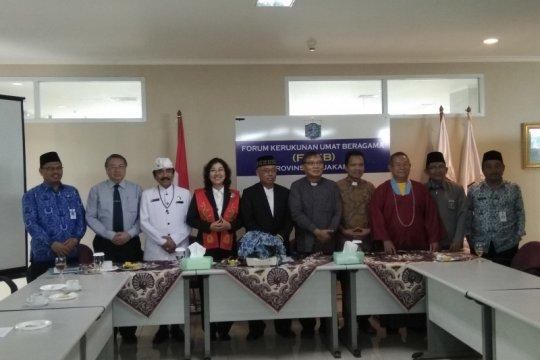 FKUB: Ada anomali penilaian indeks kerukunan umat beragama di Jakarta