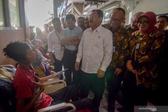 Kunjungan kerja Menteri Kesehatan