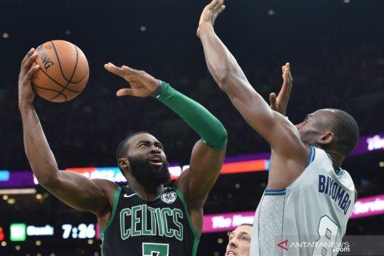 NBA: Boston Celtics  kalahkan  Charlotte Hornets 119 - 93