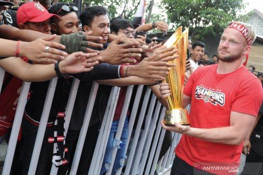 Melvin Platje berambisi ulangi sukses Bali United