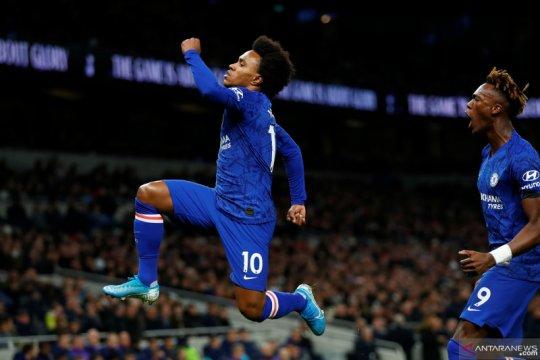 Liga Inggris:  Babak I Chelsea unggul 2-0 atas Tottenham