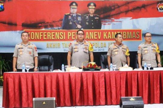 Polda Jawa Timur tangani 17.305 kasus selama 2019