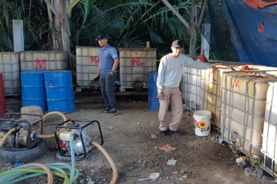 Polda Aceh ungkap pengolahan BBM ilegal