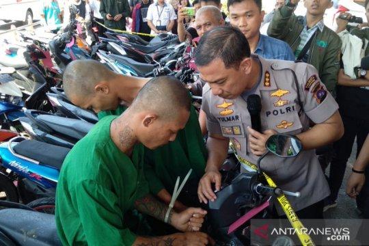 Polresta Padang ringkus komplotan pencuri motor