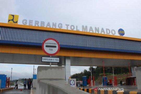 13.689 kendaraan lintasi tol Manado-Bitung hingga hari ketiga