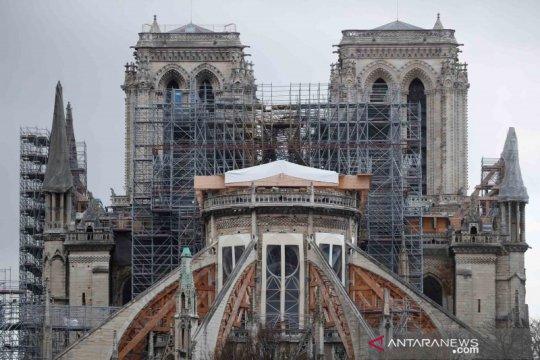Prancis akan kembali pulihkan Notre-Dame seperti sebelum dilalap api