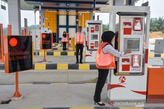HK kenalkan penggunaan kartu E-Toll untuk Tol Pekanbaru-Dumai