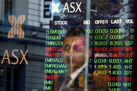 Saham Australia dibuka cenderung datar tertekan musim pelaporan laba