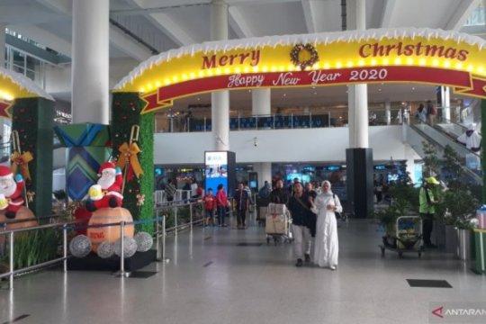 H+1 arus mudik Natal-Tahun Baru, Bandara Kualanamu masih ramai