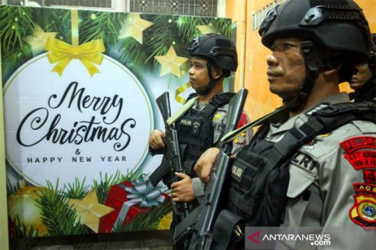 Natal berjalan kondusif, Komisi III DPR hargai kinerja Polri
