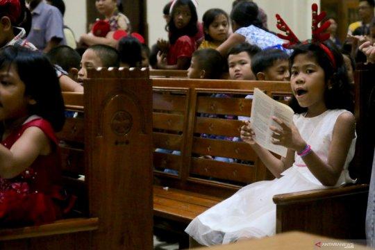 Gereja St Yoseph Matraman adakan misa khusus anak-anak
