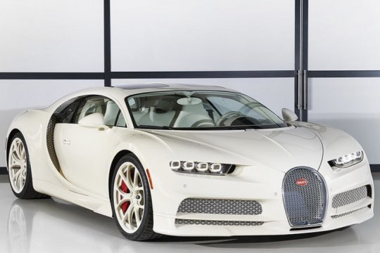 Bugatti Chiron edisi Hermes siap dikirim