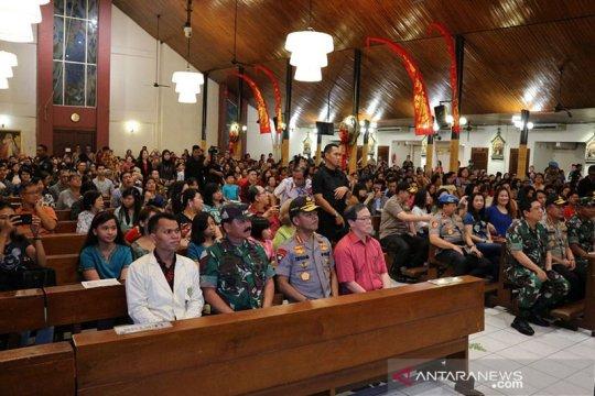 Kapolri dan Panglima TNI serukan pesan damai Natal
