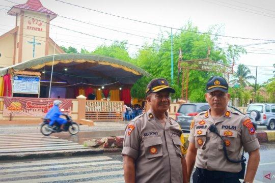 Misa Natal di 11 gereja di Banjarbaru berlangsung lancar dan kondusif