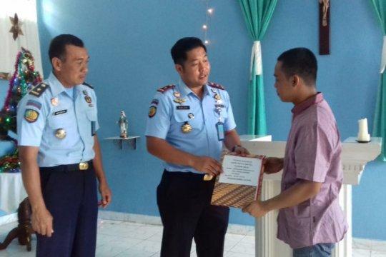 Seorang narapidana Rutan Bantul peroleh remisi khusus Natal