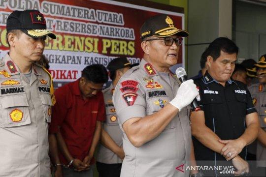 Kapolda Sumut: Pengedar sabu-sabu ditembak mati karena melarikan diri
