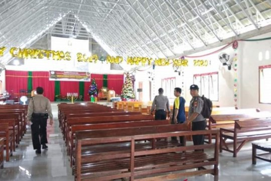 Polres Mukomuko Bengkulu konsentrasi amankan puluhan gereja