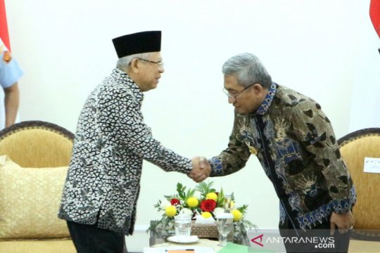 Wapres terima Pemprov Sulawesi Barat bahas pembangunan infrastruktur