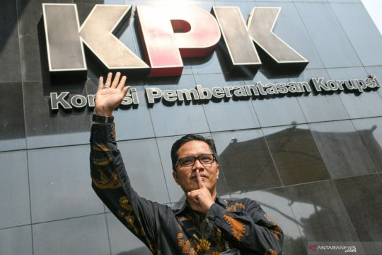 Febri Diansyah benarkan pamit dari KPK