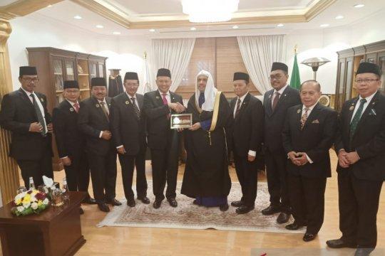 MPR apresiasi Liga Muslim Dunia dukung sikap beragama moderat