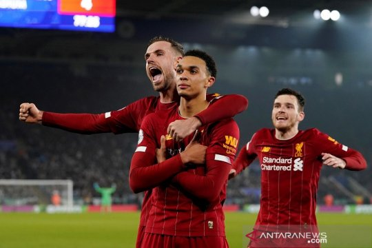 Klasemen Liga Inggris usai Boxing Day, Liverpool unggul 13 poin