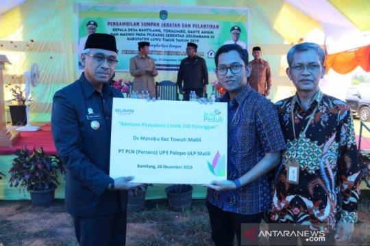 PLN listriki lima desa di Kabupaten Luwu Timur Sulsel