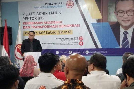 Rektor IPB sampaikan kebebasan akademik modal cetak SDM unggul