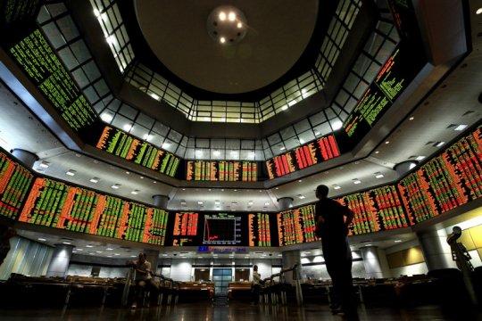 Saham Malaysia turun untuk hari ketiga, indeks KLCI susut 0,44 persen