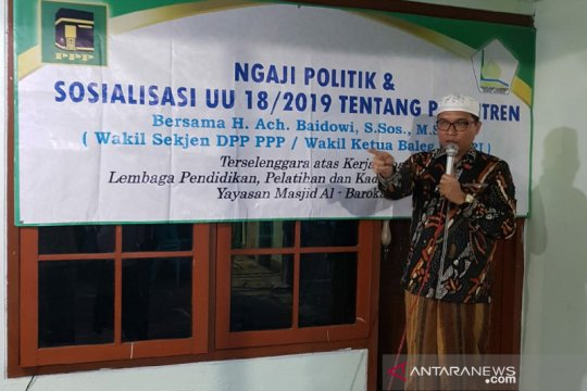 PPP sosialisasi UU Pesantren di Banyuwangi