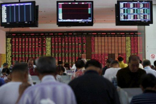 Saham China ditutup turun, hentikan kenaikan beruntun delapan hari