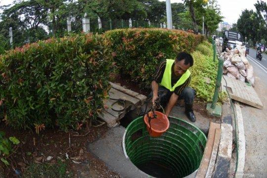 Sudin SDA Jakpus membuat 300 drainase vertikal untuk antisipasi banjir
