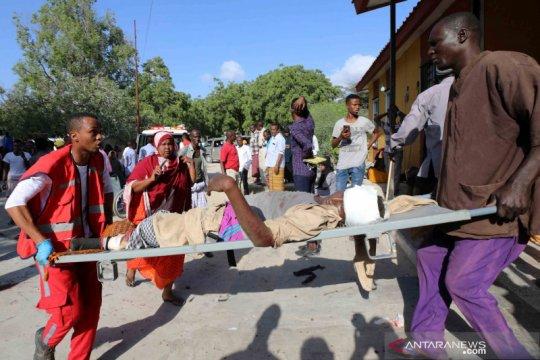 Turki bantu evakuasi korban ledakan Mogadishu, Somalia