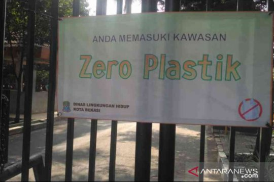 Bekasi kampanye kurangi kantong plastik di pusat belanja