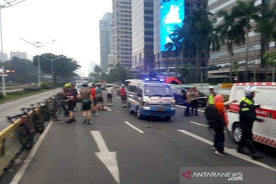 Oknum ASN penabrak tujuh sepeda berdinas di Polres Jakarta Selatan